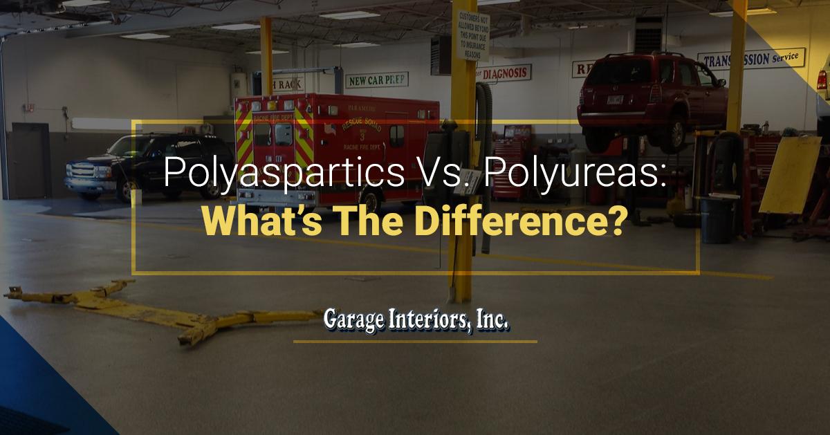 Garage Floor Coating Wisconsin - Polyaspartics Vs  Polyureas